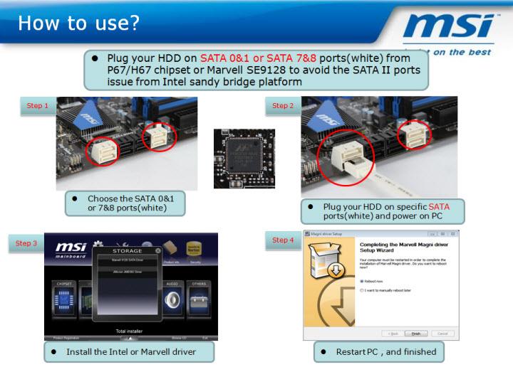 msi MSI แจ้งการแก้ปัญหาเบื้องต้นของ Intel Chipset P67