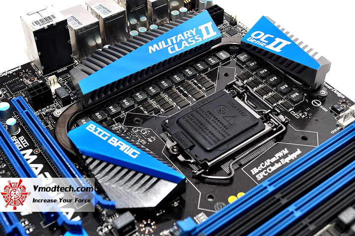 dsc 0040 MSI BIG BANG P67 MARSHAL Motherboard Review
