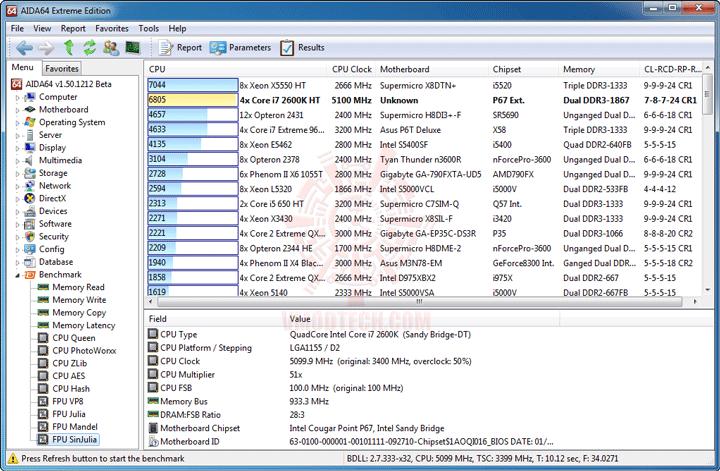 e10 MSI BIG BANG P67 MARSHAL Motherboard Review