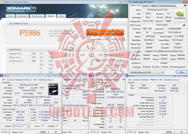 920 11003 PaLiT GeForce GTX 570 Sonic 1280MB GDDR5