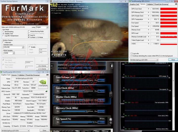 oc 920 1100 PaLiT GeForce GTX 570 Sonic 1280MB GDDR5