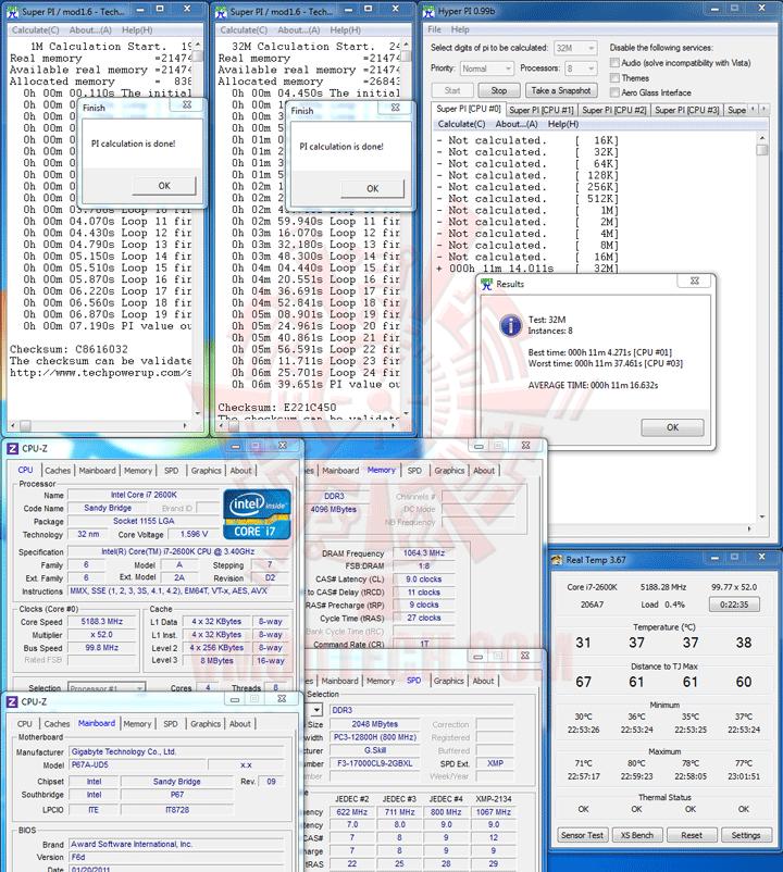 hpi 1 GIGABYTE P67A UD5 Motherboard Review