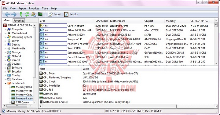 aida mem latency resize G.Skill RipjawsX F3 17000CL9D 4GBXMD