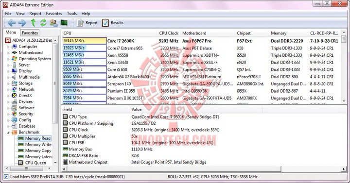 aida mem read resize G.Skill RipjawsX F3 17000CL9D 4GBXMD