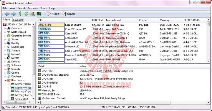 aida mem write resize G.Skill RipjawsX F3 17000CL9D 4GBXMD