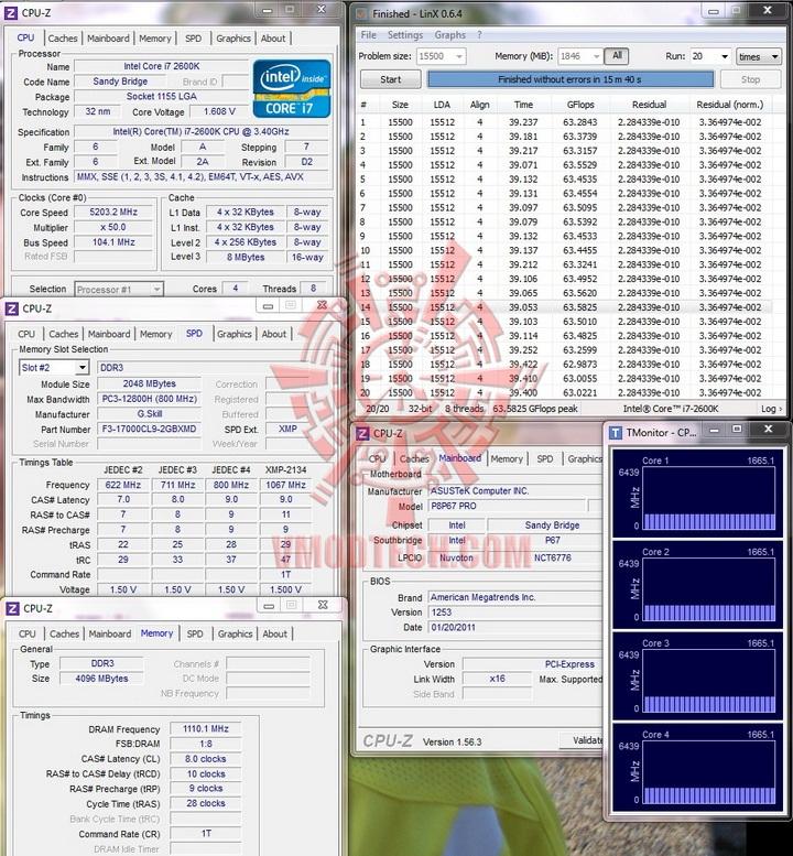 linx finish1 G.Skill RipjawsX F3 17000CL9D 4GBXMD
