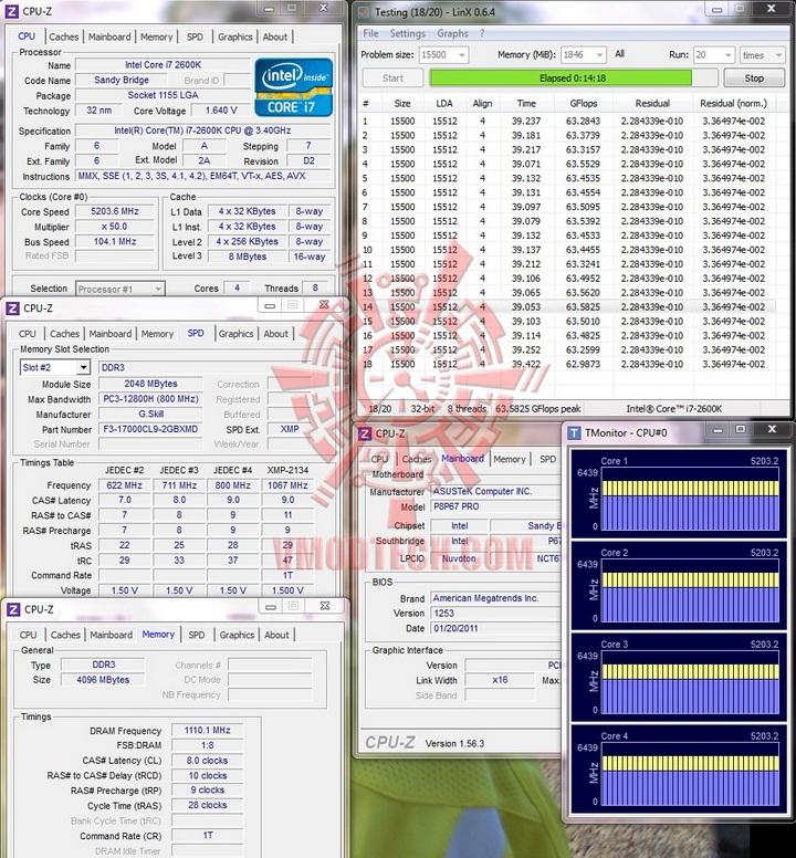 linx run1 G.Skill RipjawsX F3 17000CL9D 4GBXMD