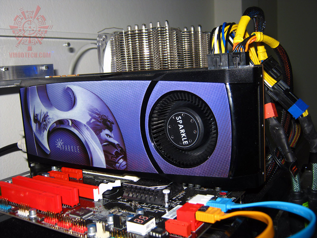 test setup2 SPARKLE GeForce GTX580 : Review