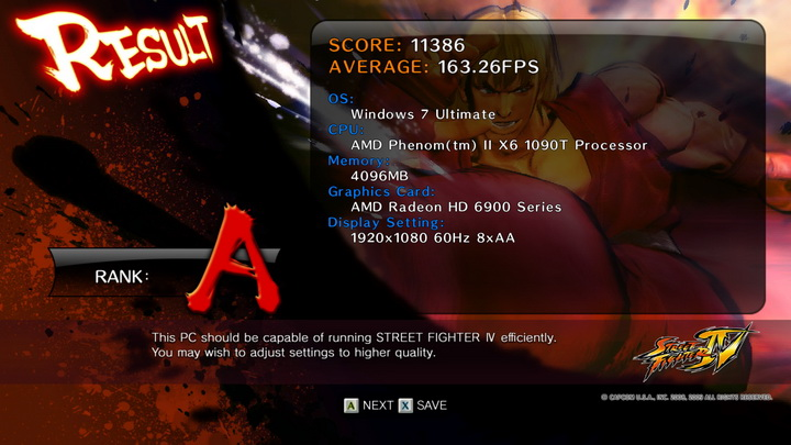 streetfighteriv benchmark 2011 02 19 23 43 24 52 ASUS Radeon HD6970 2GB DDR5 Review