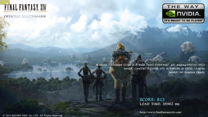 ffxivwinbenchmark 2011 02 22 19 54 34 33 720x405 ECS H67H2 I Mini ITX Motherboard Review