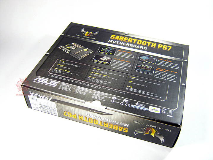 sabertooth 02 Asus SABERTOOTH P67 : Review