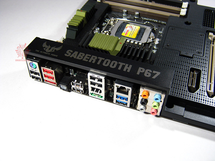 sabertooth 13 Asus SABERTOOTH P67 : Review