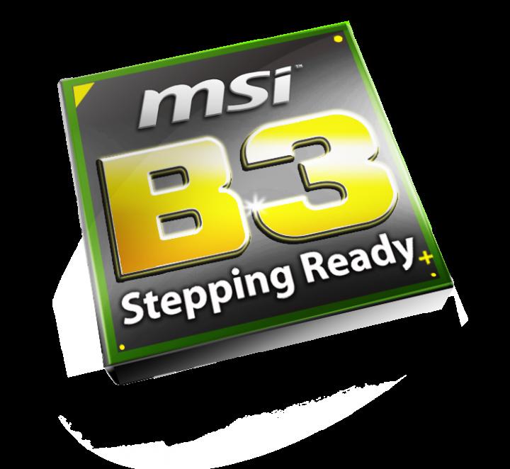 b3 stepping ready sitcker 0210 c 720x662 ชิปเซ็ตสเต็ปปิ้ง B3 ใหม่ล่าสุด พร้อมแล้วที่จะแก้ไขปัญหาพอร์ต SATA บนเมนบอร์ด P67/H67 ของ MSI