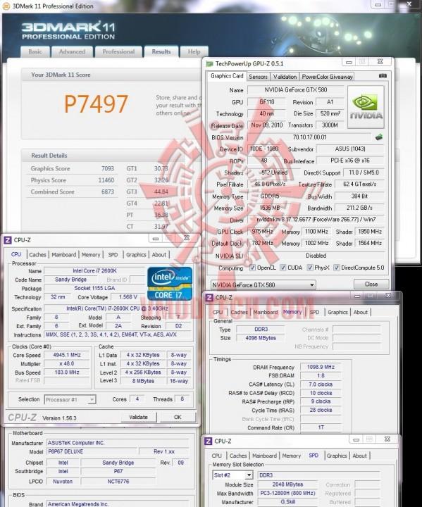 11 599x720 ASUS P8P67 DELUXE Motherboard