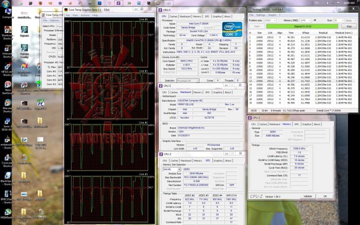 linx run 720x450 ASUS P8P67 DELUXE Motherboard