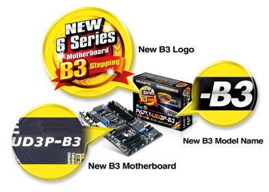 gig2 Gigabyte Motherboard Series 6 Stepping B3