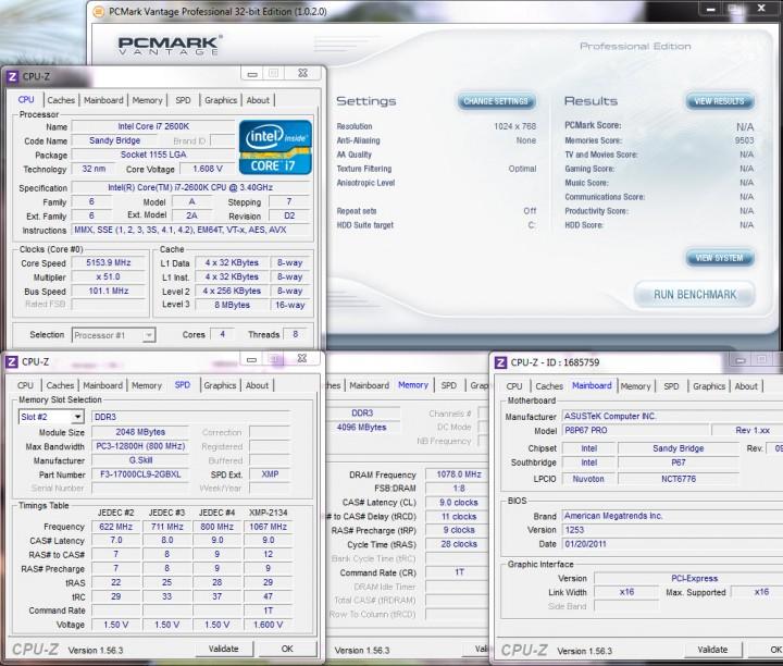 pcmark vantage 720x612 G.Skill RipjawsX F3 17000CL9D 4GBXL