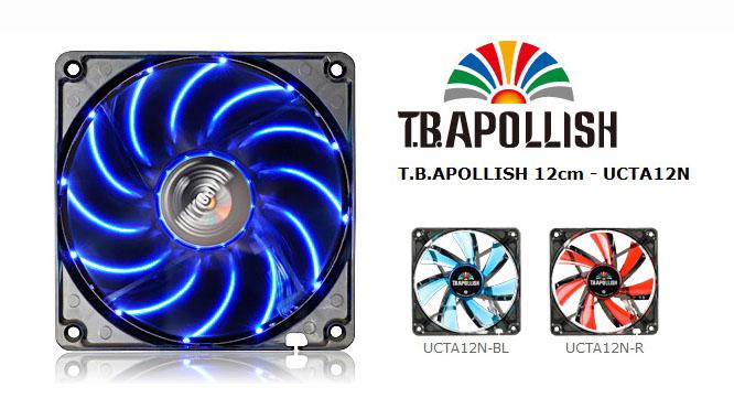 1 ENERMAX T.B.APOLLISH 12cm UCTA12N BL Review