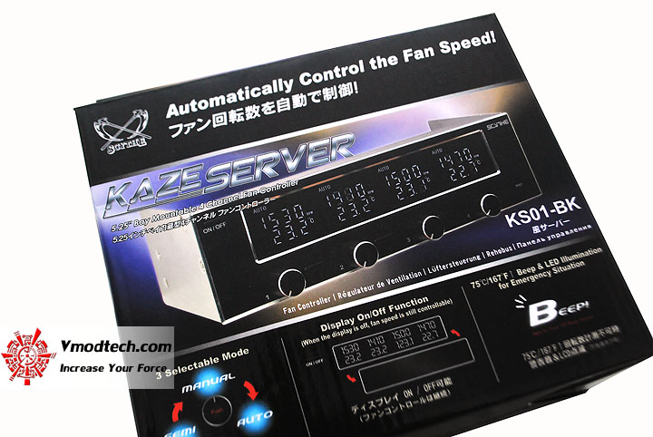 dsc 0464 SCYTHE KAZE SERVER Automatically Fan Speed Controller