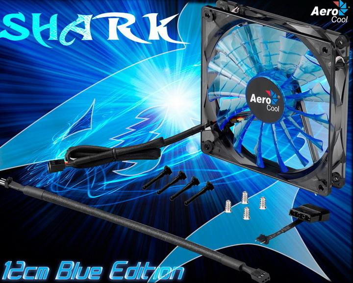 3 Aerocool Shark Fan 12cm Review