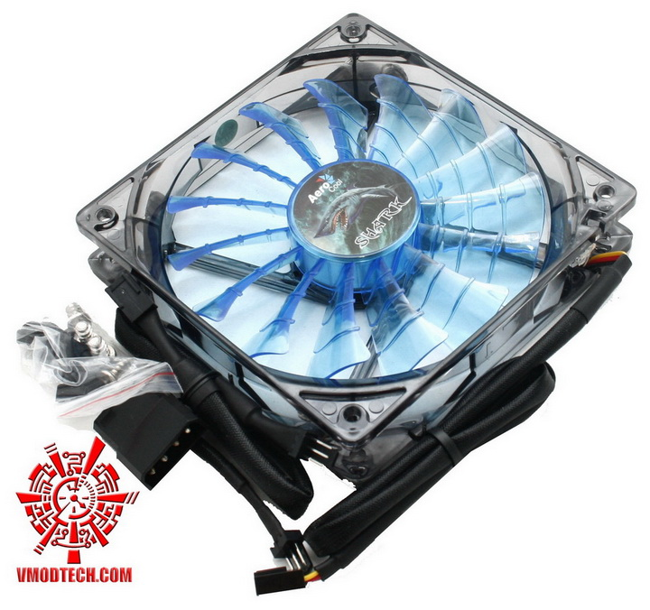 mg 2511 Aerocool Shark Fan 12cm Review