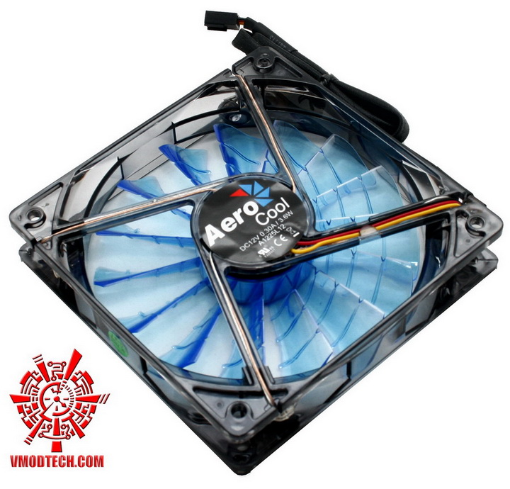 mg 2515 Aerocool Shark Fan 12cm Review