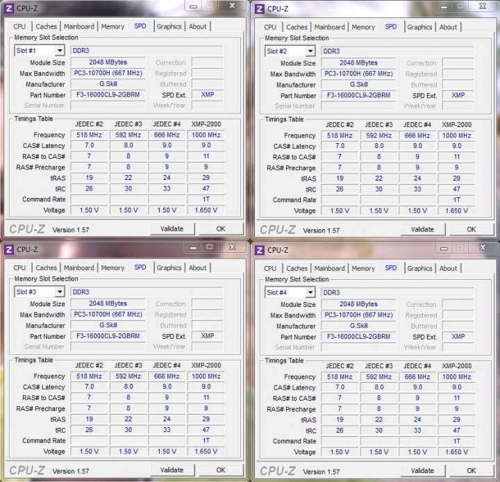 cpuz mem 720x694 G.Skill Ripjaws F3 16000CL9D 4GBRM X2
