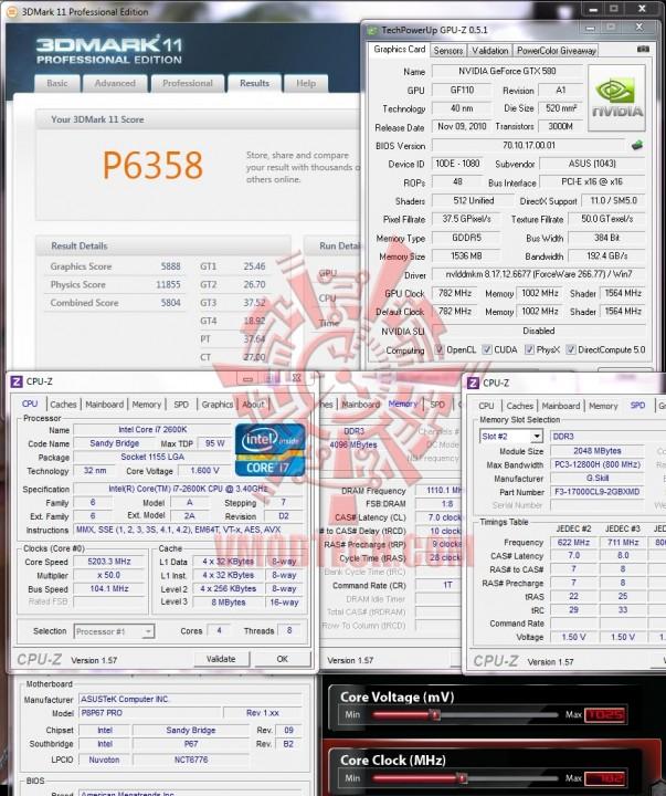 11 603x720 ASUS GTX580 Voltage Tweak