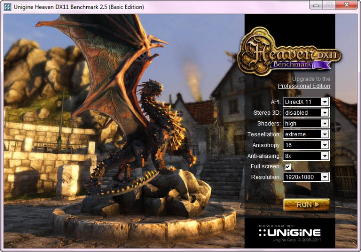 unigine 25 setting hd 720x503 ASUS GTX580 Voltage Tweak