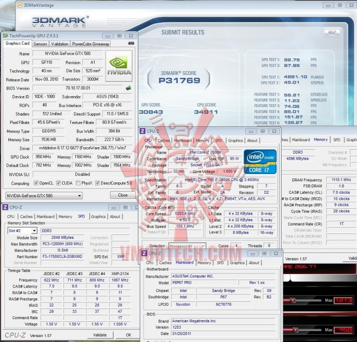 vantage no physx 720x690 ASUS GTX580 Voltage Tweak