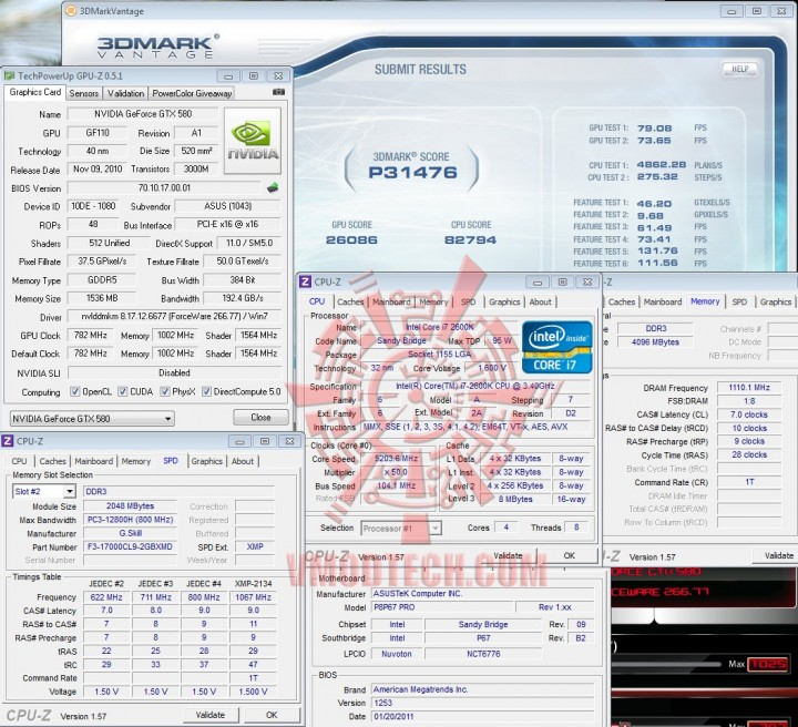 vantage1 720x656 ASUS GTX580 Voltage Tweak