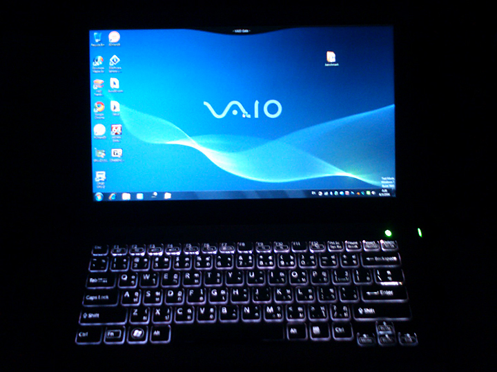 pic227 Review : Sony VAIO SB Ultra portable 13.3 Notebook