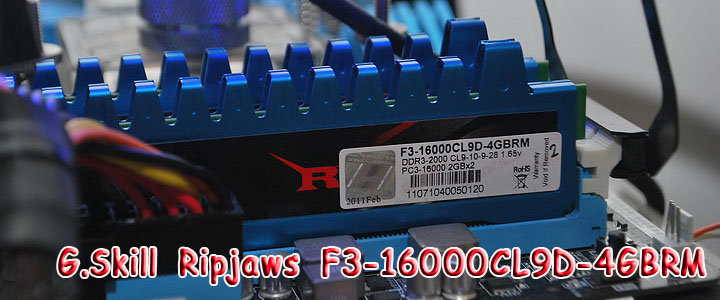 main G.Skill Ripjaws F3 16000CL9D 4GBRM