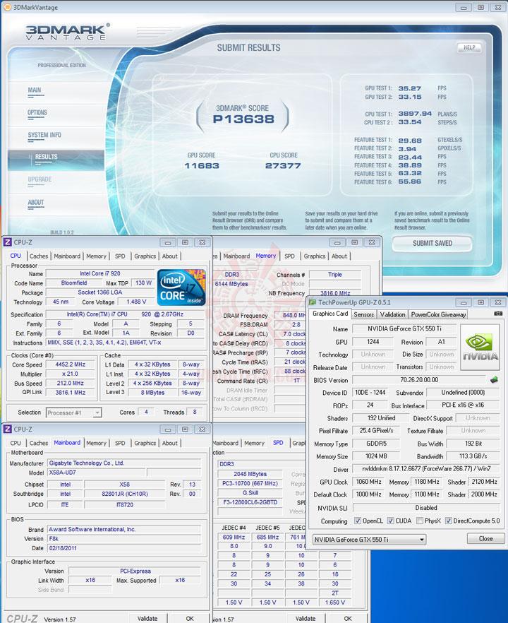 07np d PaLiT NVIDIA GeForce GTX 550 Ti Sonic 1GB GDDR5 Debut Review