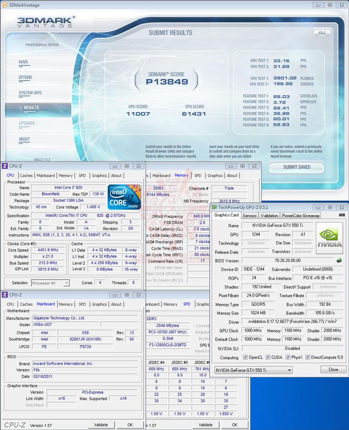 07p b PaLiT NVIDIA GeForce GTX 550 Ti Sonic 1GB GDDR5 Debut Review