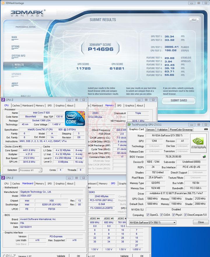 07p d PaLiT NVIDIA GeForce GTX 550 Ti Sonic 1GB GDDR5 Debut Review