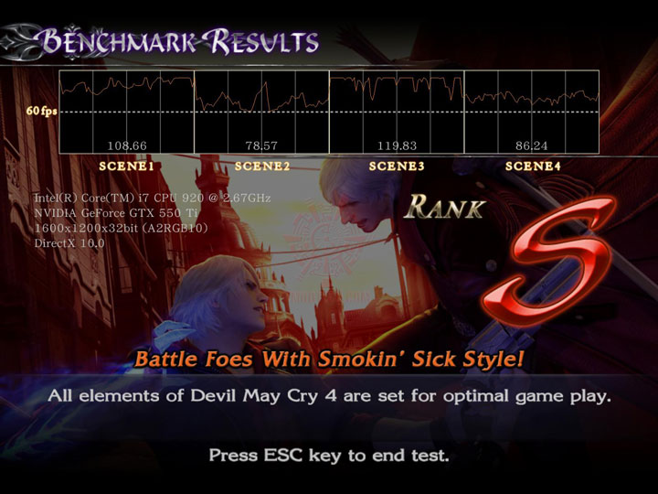 devilmaycry4 a PaLiT NVIDIA GeForce GTX 550 Ti Sonic 1GB GDDR5 Debut Review