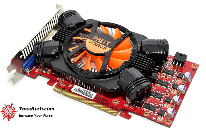 dsc 0251 PaLiT NVIDIA GeForce GTX 550 Ti Sonic 1GB GDDR5 Debut Review