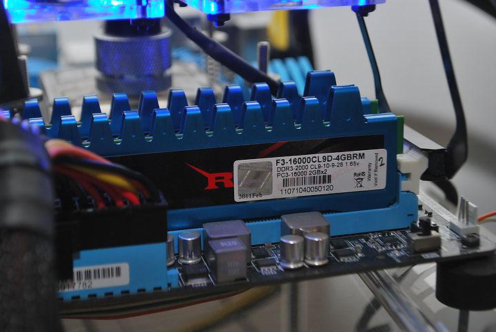 dsc 0532 G.Skill Ripjaws F3 16000CL9D 4GBRM