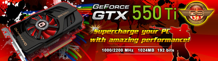 3 16 2011 9 05 55 pm Gainward GeForce GTX 550 Ti 1024MB Series