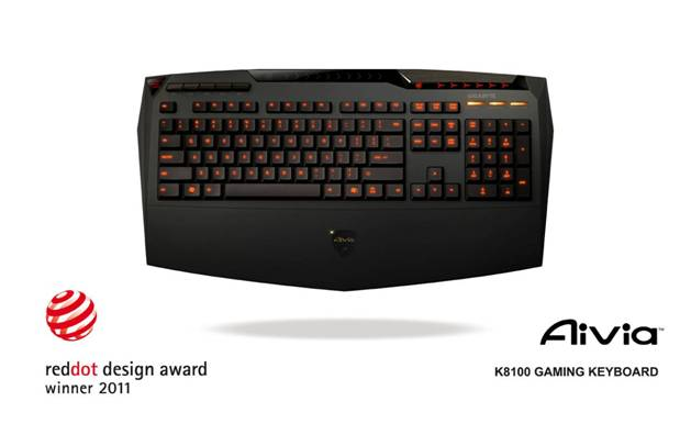 image001 GIGABYTE Aivia™ K8100 Gaming Keyboard Wins World's Renowned Red Dot Design Award