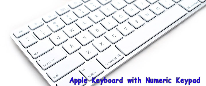 main1 Apple Keyboard with Numeric Keypad