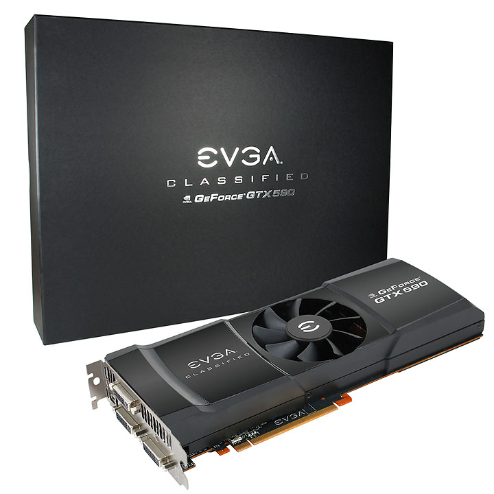 evga 03g p3 1598 ar xl 1 NVIDIA GeForce GTX 590 3GB GDDR5 Debut Review