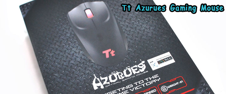 azurues main Tt eSPORTS Azurues Optical Gaming Mouse