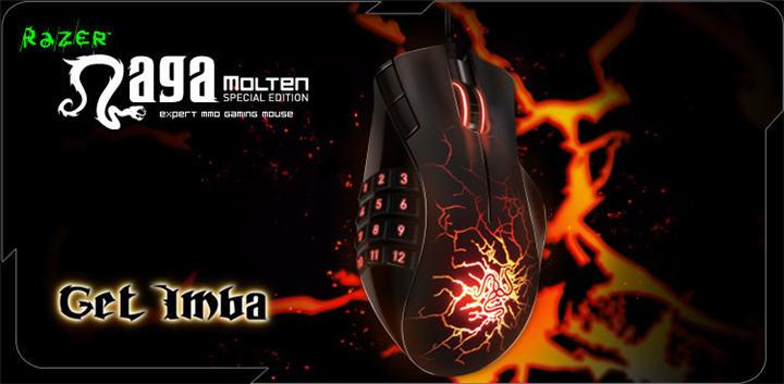 razer naga molten special edition main ARC ส่ง Razer Naga Molten Special Edition เมาส์ MMO 17 ปุ่ม โฉมใหม่ ร้อนแรง โดนใจสุดๆ