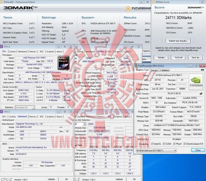 1000 WinFast GTX 560 Ti 1024MB GDDR5 Review
