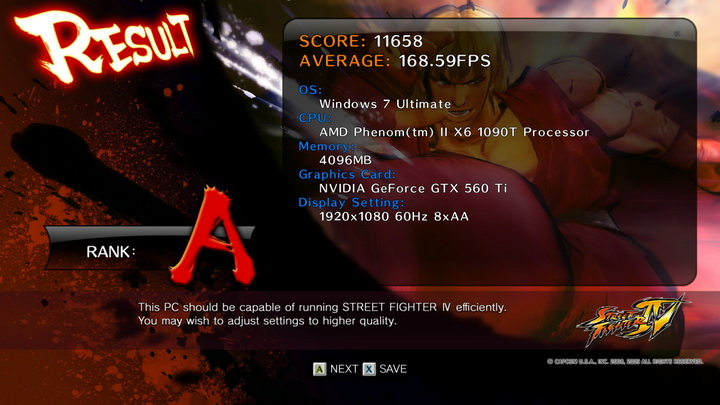 streetfighteriv benchmark 2011 03 27 21 55 35 781 WinFast GTX 560 Ti 1024MB GDDR5 Review