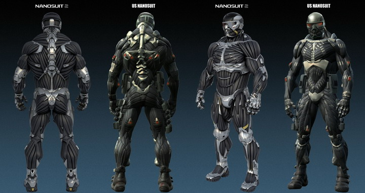 nanosuit Crysis 2 the Latest Generation of CryEngine