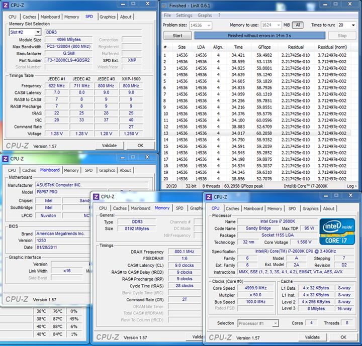 linx G.SKILL SNIPER  F3 12800CL9D 8GBSR2