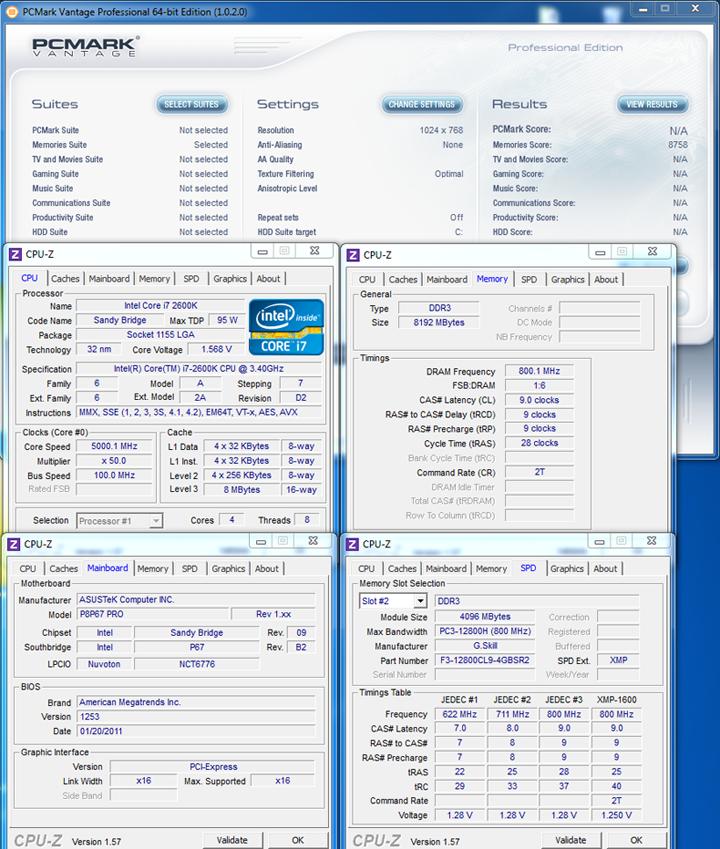 pcv G.SKILL SNIPER  F3 12800CL9D 8GBSR2